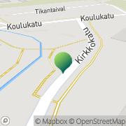 Kartta Jyväskylän kaupunki Tikkakosken kirjasto Tikkakoski, Suomi