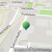 Kartta Lahden maistraatti Lahti, Suomi