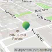 Kartta Porvoon kaupunki koulutustoimi Porvoo, Suomi