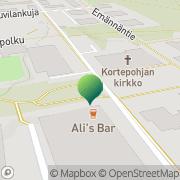 Kartta Jyväskylän kaupunki Kortepohjan kirjasto Jyväskylä, Suomi