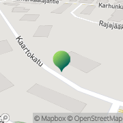 Kartta Rovaniemen kaupunki Ryhmäkoti Mäntylä Rovaniemi, Suomi