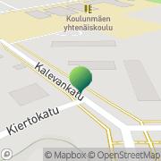 Kartta Äänekosken kaupunki Äänekosken perhetukikeskus Äänekoski, Suomi