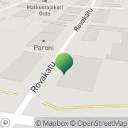 Kartta Päivähoidon palvelukeskus Rovaniemi, Suomi