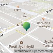 Kartta Jyväskylän Turvanen Jyväskylä, Suomi