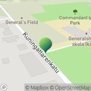 Kartta Loviisan kaupunki Parkskolan Loviisa, Suomi