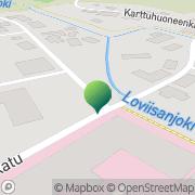 Kartta Loviisan kaupunki Hambergin koti Loviisa, Suomi