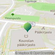 Kartta Kymenlaakson Eurooppatiedotus Kouvola, Suomi