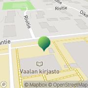 Kartta Vaalan kunta kunnankirjasto Vaala, Suomi