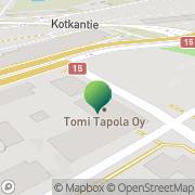 Kartta Kotkan kaupunki opetus- ja sivistystoimen palvelukeskus Kotka, Suomi