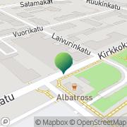 Kartta Kotkan kaupunki Kotka, Suomi