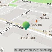 Kartta Asiakaspalvelupiste Hamina, Suomi