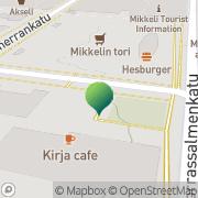 Kartta Mikkelin kaupunki kansliapalvelut, lainopillinen osasto Mikkeli, Suomi