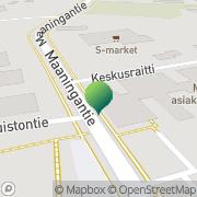 Kartta Maaningan kunta koulutoimisto Maaninka, Suomi