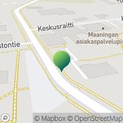 Kartta Maaningan kunta Jukolan Työ- ja toimintakeskus Maaninka, Suomi