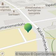 Kartta Kemijärven kaupunki Powerpolis Kemijärvi Kemijärvi, Suomi
