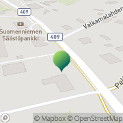 Kartta Suomenniemen kunta terveysasema Suomenniemi, Suomi