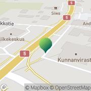 Kartta Pelkosenniemen kunta tekninen lautakunta Pelkosenniemi, Suomi