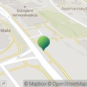 Kartta Siilinjärven kunnankirjasto Siilinjärvi, Suomi