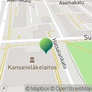 Kartta Kansaneläkelaitos Kuopion toimisto Kuopio, Suomi