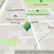 Kartta Kuopion kaupunki kulttuuripalvelukeskus Kuopio, Suomi