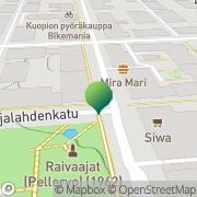 Kartta Kuopion kaupunki ympäristökeskus Kuopio, Suomi