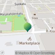 Kartta Kuopion kaupunki rahatoimisto Kuopio, Suomi