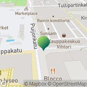 Kartta Invalidiliiton Kuopion kuntoutus- ja työklinikka Kuopio, Suomi