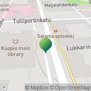 Kartta Pohjois-Savon Eurooppatiedotus Kuopio, Suomi