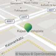 Kartta Kajaanin kaupunki rakennusvalvontatoimisto Kajaani, Suomi
