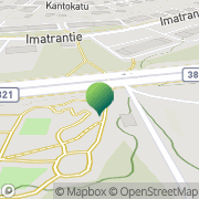 Kartta Etelä-Karjalan Eurooppatiedotus Lappeenranta, Suomi