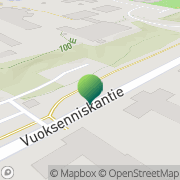 Kartta Imatran kaupunki Vuoksenniskan kirjasto Imatra, Suomi