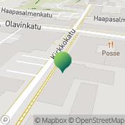 Kartta Kansaneläkelaitos Savonlinnan toimisto Savonlinna, Suomi