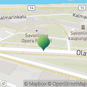 Kartta Savonlinnan kaupunki rakennusvalvontatoimisto Savonlinna, Suomi