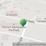 Kartta Kansaneläkelaitos Parikkalan toimisto Parikkala, Suomi