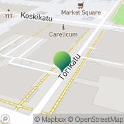 Kartta Joensuun kaupunki Seutuhallinto Joensuu, Suomi
