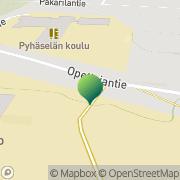 Kartta Joensuun kaupunki Pyhäselän kirjasto Hammaslahti, Suomi