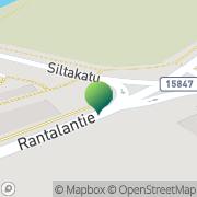 Kartta Lieksan kaupunki rahatoimisto Lieksa, Suomi
