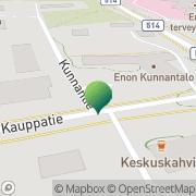 Kartta Joensuun kaupunki Enon sosiaali- ja terveystoimisto Eno, Suomi