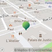 Carte de Le mars Reims, France