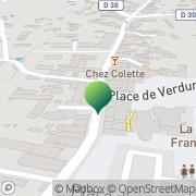 Carte de Mairie Brindas, France