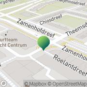 Kaart Dienst Gemeentebibliotheek Utrecht Utrecht, Nederland