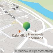 Karte Bruna Postkantoor Huissen, Niederlande
