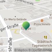 Karte Paketshop Aachen XXL e.K. Aachen, Deutschland