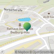 Karte Gemeindeverwaltung Bedburg Hau Bedburg-Hau, Deutschland