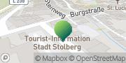 Karte GLS PaketShop Stolberg, Deutschland