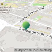 Carte de Acces Conseil Draguignan, France