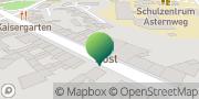 Karte GLS PaketShop Stein, Deutschland