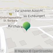 Karte Gasthaus Zur Post Thomm, Deutschland
