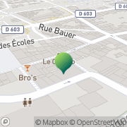 Carte de Mairie Forbach, France