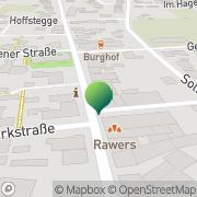 Karte Textilhaus Banken Ahaus, Deutschland